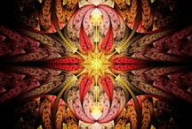 Coulorful fantasy 1: Fractals / Fractals. Attention: I've started a seperate board with mandala's / by Owlet