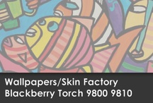 Wallpapers Blackberry Torch 9800 9810 / Skin Factory / Descargá aquí el Wallpaper de tu modelo de SKIN!!!