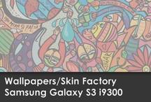 Wallpapers Samsung Galaxy S3 i9300 / Skin Factory / Descargá aquí el Wallpaper de tu modelo de SKIN!!!