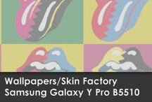 Wallpapers Samsung Galaxy Y Pro B5510 / Skin Factory / Descargá aquí el Wallpaper de tu modelo de SKIN!!!