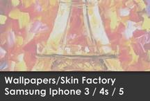 Wallpapers iPhone 4 • 4s • 5 / Skin Factory / Descargá aquí el Wallpaper de tu modelo de SKIN!!!