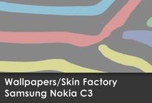 Wallpapers Nokia C3 / Skin Factory / Descargá aquí el Wallpaper de tu modelo de SKIN!!!