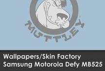 Wallpapers Motorola Defy MB525 / Skin Factory / Descargá aquí el Wallpaper de tu modelo de SKIN!!!