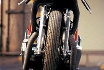 CUSTOM MOTORCYCLES  / Classic, cafe racer, bratstyle, speed tracker / by JackEvo