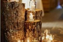 Mason Jar Varieties /  That good ol' mason jar - brides are coming up with great ideas every year!