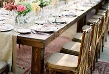 Tablescapes! / Ideas that elevate the mood and menu.
