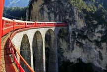 Scenic train rides / Some of the world's most spectacular locations are accessible via historic train lines, many of which are peerless feats of engineering that provide a cinemascope perspective on the landscape. Throw in history (and in some cases unparalleled comfort) and you have some of the world's greatest travel experiences. www.secretearth.com/best_lists/59-scenic-train-rides