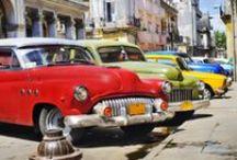 Cuba / Beautiful architecture, tropical tunes, Caribbean weather, world-class cocktails, and fascinating history and politics. http://www.secretearth.com/destinations/119-cuba