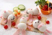 Good-looking / various interesting culinary ideas  original, surprising, exciting, inspiring, funny
