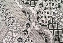 Zentangle & Doodling / zentangle, doodling,  zentangle inspired art,zendala