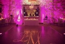 Lighting / Another creative design technique for your indoor/ evening wedding & event