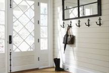 House - Entrance, Mudrooms and Porch / What I aspire to create!  A beautiful place to keep us organized! Happy renovation!