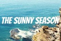 The Sunny Season / Filled with heat, ocean beaches, fun, new friends, vacations, long warm nights and smiles. We present The Sunny season :-)