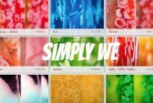 Simply We / We make everyday life more colorful, more fragrant, more real. Simply Soap Like No Other! www.spartasoaps.com