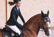Equestrianism / The art of horseback riding; equestrian riders; Charlotte Casiraghi; equestrian fashion.  Les sports équestres