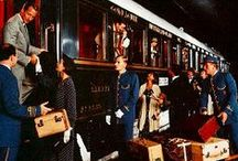 Travel by train. Orient Express and more / Luxury train all over the world / Orient Express / Travel