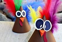 Thanksgiving / Who's ready for turkey, stuffing, and all the fixings of Thanksgiving?! Get your Thanksgiving decorations out. Bake those pumpkin pies and get ready to celebrate with your family and friends with these Thanksgiving games, recipes, and turkey outfit fun.
