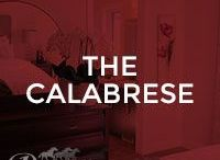 The Calabrese / Our Calabrese model; 1483 square feet, single home with front attached garage, 2 storey, 3 bedroom