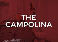 The Campolina / Our Campolina floor plan; 1494 square feet, duplex with front attached garage, 2 storey, walk-out basement, 3 bedrooms