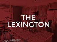 The Lexington / Our Lexington floor plan; 1372 square feet, 2 storey duplex, 3 bedrooms, kitchen island