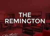 The Remington / Our Remington floor plan; 1146 square feet, 2 storey duplex, 2 master bedrooms with ensuite & walk-in closet, open concept main floor