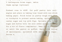 recipes - sweet. / by Nina Gabelica