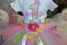tutus / All of these are made by Purple Pumpkin Gifts. visit us at purplepumpkingifts.com