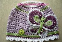 crochet hats & headbands / by Vicki Petty