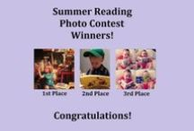 Summer Reading Photo Contest / Our first Facebook contest was a huge success!  We believe all of our entrants are winners, because they understand how important books and reading are for kids of all ages. Enjoy their photos, listed in the order of most votes.