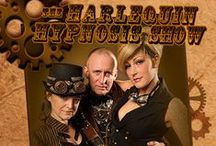 The Harlequin Hypnosis Show / Check out this steampunk inspired production THE HARLEQUIN HYPNOSIS SHOW http://www.harlequinhypnosisshow.com