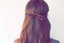 Peinados fáciles, easy hairstyles