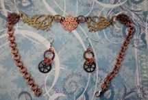 Steampunk Jewelry / Steampunk jewelry for sale on Ebay and Etsy