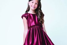 Marsala Color Flower Girl Dresses / Beautiful Color of the Year!