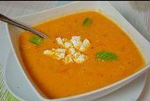 Rezepte - Suppen / Hier und auf meinem Blog findet ihr viele bunte, frische oder wärmende Suppen, vegetarisch, mit Fleisch oder Fisch. Manche sind gehaltvoll, andere zum Abnehmen. Schaut vorbei!