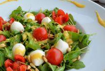 Rezepte - Salate / Auf dieser Pinnwand findet ihr meine liebsten Rezepte für Salate zu allen Anlässen!