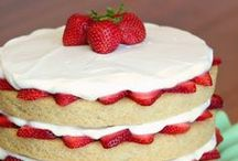 SHORTCAKE & Variations! / Strawberry and other fruit shortcake recipes plus variations that can be created out of shortcakes!