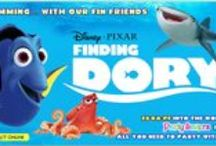 Finding Dory / Find all the supplies you need to host the best Finding Dory Themed Party at Party Savers. In stores and online. http://www.partysavers.com.au/shop/category/themed-party-supplies-licensed-themes-finding-dory-party-supplies
