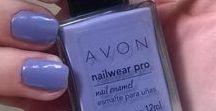 Avon True Color Nail Wear Pro / Swatches de la linea de esmaltes de Avon, Nail Wear Pro
