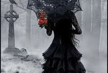 Goth / Black is such a happy color.