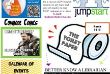 "The Toilet Paper / This is an archive of all past ""Toilet Papers;"" a monthly newsletter we gear towards our 'captive' student audience in the Research Center restrooms!"