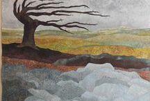 Quilts....Blumen, Bäume, Landschaften / by Monika Moser