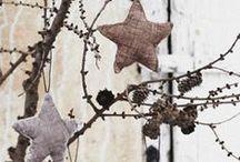 Sterne aus Stoff / by Monika Moser