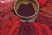 wild and rich - red natural dyeing