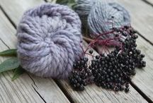 wild berries: natural dyeing