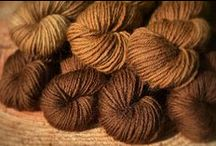 wild and simple - brown natural dyeing