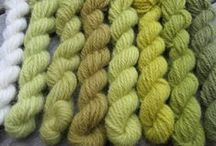 wild and varied - green natural dyeing