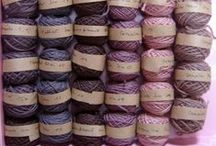wild and vivid - purple  natural dyeing