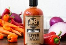 A&B American Style Pepper Sauces