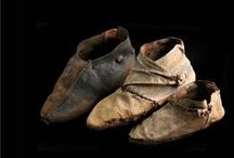 extant shoes / Archeological finds of shoes up to 1500 C.E.