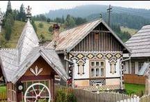 traditional, popular romanesc